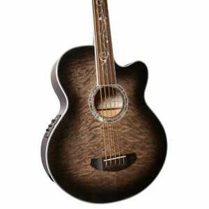 Michael Kelly Dragonfly Fretless 5 5-String Acoustic-Electric Bass Guitar (Demo)