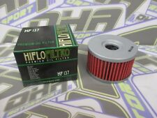 NEW Hiflo Oil Filter HF137 for Suzuki DR650S DR650 S 2015 2016 / DR650SE 97-14