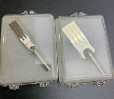 "Vintage Speedball Steel Brush Calligraphy Nibs E 1/4"" & E 1/2"" lot of 2"