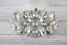 Stunning Pretty Shabby Chic Diamante Bling Swag Wedding Cake Trim 19 cm