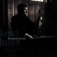 NEW As Quick as Fire: The Art of the Norwegian Hardanger Fiddle (Audio CD)