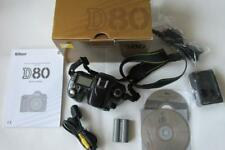 Nikon D80 10.2MP Digital-SLR DSLR Camera Body only - BOXED - CHEAP!