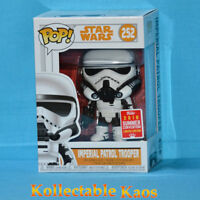 SDCC 2018 - Star Wars: Solo - Imperial Patrol Trooper Pop! Vinyl (RS) #252