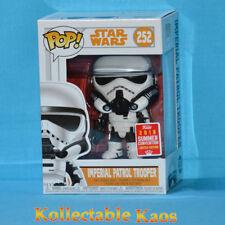 Funko Pop Star Wars Imperial Patrol Trooper 2018 SDCC #252 Vinyl Figure