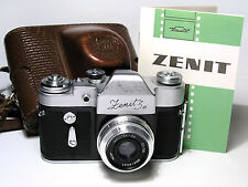 ZENIT-3M Russian SLR camera with Industar-50 lens. Export version. EX!