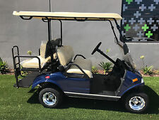 2020 Blue LSV Evolution EV Golf Cart Car Classic 4 Passenger seat street legal