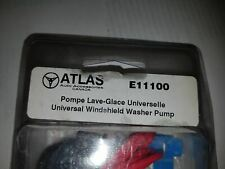 Atlas universal windshield washer pump E11100