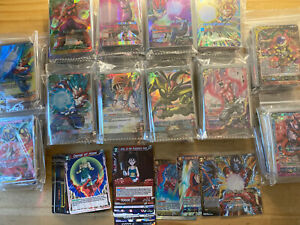 Dragon Ball Super Bundle Lot of 30 Mixed C, UC, Non Foil Rare And Holo Cards