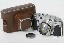 Konica III rangefinder 35mm camera with Hexanon 48mm f2 lens