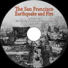 The San Francisco Earthquake and Fire - MP3 CD Audiobook in paper sleeve