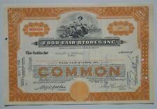 Schöne alte US Aktie - Historisches Wertpapier Nr. 7