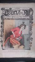 Revista Jean Que Rit N º 397 1908 Journal Demuestra que Aparecen El Viernes ABE