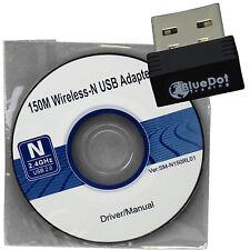 Mini 150M USB WiFi Wireless LAN 802.11 n/g/b Adapter nano network N Fast RT7601