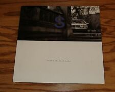 1997 Mercedes-Benz S Class Deluxe Sales Brochure 97