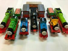 Vintage Thomas The Train Wooden Railways Train Engines Lot of 12
