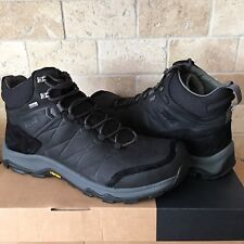 TEVA ARROWOOD RIVA MID BLACK WP HIKING TRAIL LEATHER BOOTS SHOES SIZE 12 MENS