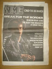 NME 1987 APR 25 DEACON BLUE CND HUSKER DU TOM JONES
