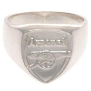 Official ARSENAL FC Sterling Silver Crest RING