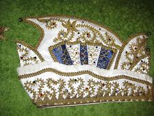 Prinzenkappe,PrinzenmützeSchiffchen,Karnevalshut,Strass,Brokat,Kappe, Karneval,