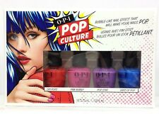 OPI Nail Lacquer - POP CULTURE 2018 Mini Collection - 4 colors x 1/8oz