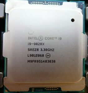 Intel® Core™ i9-9820X (16.5M Cache,3.30 GHz up to 4.20 GHz) X-series Processor