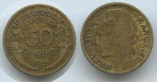 G1265 - French West Africa 50 Centimes 1944 KM#1 Scarce AOF Franz. Westafrika