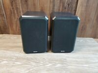 Pair Boston Acoustics Boston HD5 Bookshelf Speakers 8 Ohms *Read*