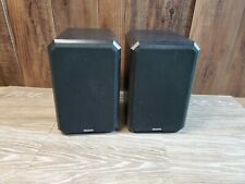 Pair Boston Acoustics Boston HD5 Bookshelf Speakers 8 Ohms *Read*