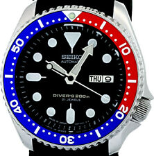 "Vintage SEIKO PEPSI diver SKX009 with Original ""21J"" dial, 7S26-0020 case & movt"