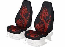 1 Car Seat Covers Animal Print Dragon Highback Seat Cushion Protector  Uinversal