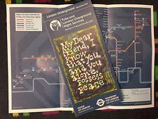 London Underground pocket Night Tube map - December 2018