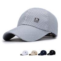 Women Men Adjustable Outdoor Sport Sun Hat UV Protection Fishing Hiking Golf Cap