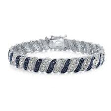 Blue Not Enhanced Fine Bracelets