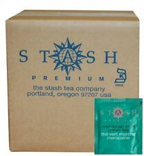 Stash Tea Moroccan Mint Green Tea, 100 Count Box of Tea Bags in Foil, New