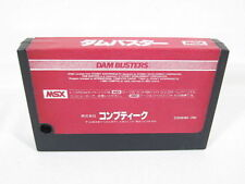 MSX DAM BUSTERS Cartridge Import Japan Video Game msx cart