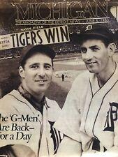 Detroit News Magazine  Tigers Win