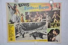 Harum Scarum 1965 Mexican Lobby Card Movie Poster Elvis Presley