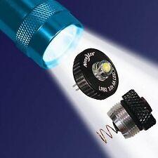 LED Upgrade für Mini Maglite 2 X AA Cell Niteize inkl.Schalter NEU!!