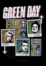 """GREEN DAY FLAGGE / FAHNE """"UNO DOS TRE"""" POSTER FLAG POSTERFLAGGE"""