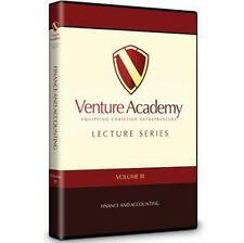 Venture Academy Lecture Series - Volume 3: Finance and Accounting