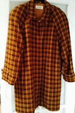 ELLEN TRACY Wool And Cashmere Coat Generous Size 6