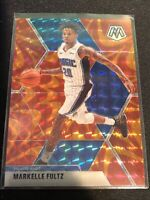 2019-20 Panini Mosaic - Markelle Fultz #42 Reactive Orange - Orlando Magic