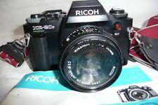 Camera  RICOH XR20SP 1.2 50mm lens + instruction book . A3