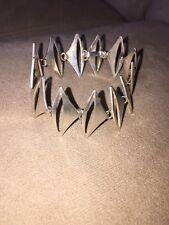 Poul Warmind Denmark sterling silver brutalist modernist bracelet signed !!SALE!