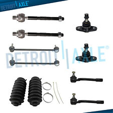 Inner Outer Tierods Front Sway Bar Lower Ball Joints for 2006-2011 Kia Rio Rio5