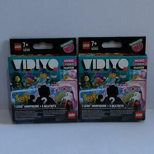 Lego Vidiyo Minifigures Series 1 - Random Boxes x 2 - New
