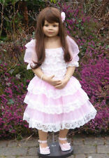 "Masterpiece Dolls * Jillian * Brunette * Monika Levenig 39 "" Vinyl Doll *"