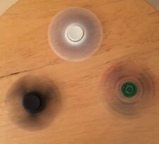 Figet Spinner 3 Sided Spinners. (Comes In Black, White, And Multi Colored Glass)