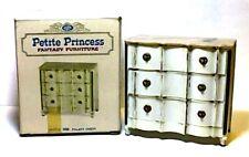 Petite Princess Vintage Miniature Dollhouse Furniture Palace Chest.