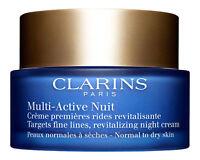 Clarins Multi-Active Night Cream Normal to Dry Skin 1.7 oz. Night Treatment